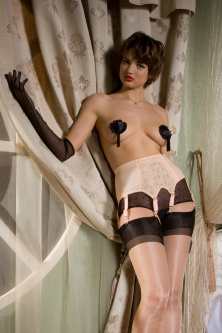 Пояс для чулок   Allure Garter Belt NATURAL